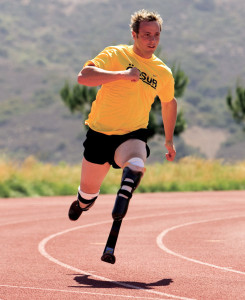 Oscar Pistorius. (Photo courtesy of Ossur Americas.)
