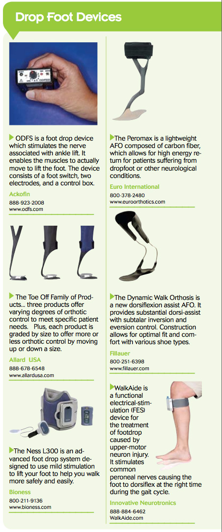 drop-foot-devices