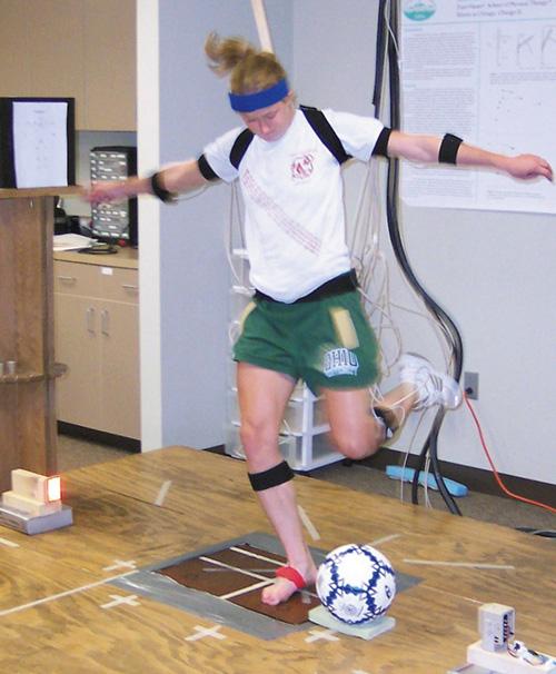 Balance Ball Kick: PLANTER'S PUNCH: Kicking And ACL Injury Risk