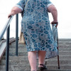 Stair negotiation alters stability in older adults