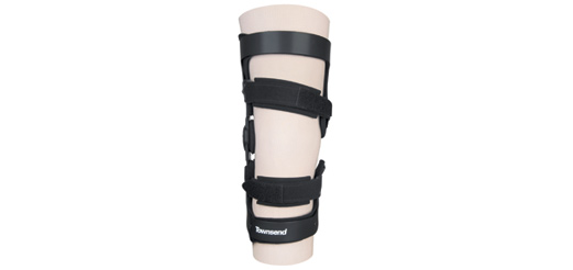 bce692ba80 Townsend Design announces its new UniReliever brace, one of eight osteoarthritis  braces offered by the company. The UniReliever is a single upright, ...
