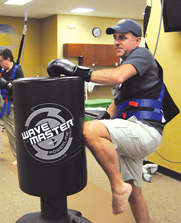 Kickboxing: A creative approach to improving balance in
