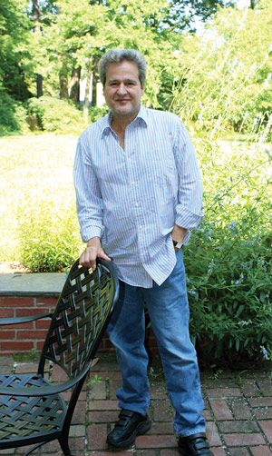"""Figure 3. David Tannen- baum generally prefers pants, but will adapt to the occasion. """"I recently visited friends in Florida and wore a bathing suit because I didn't want to miss the op- portunity of going into the pool,"""" he said. """"So there was a situation where I didn't let concerns about my braces being seen stop me from enjoying myself."""" (Photo courtesy of David Tannenbaum.)"""