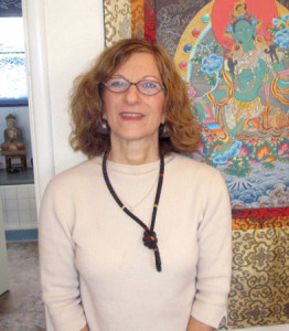 The author's acupuncturist, Carol Lourie, ND, LAc.