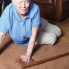Foot and ankle strategies for patients at risk for falls