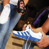 Running shoe mass: Can feet tell any difference?