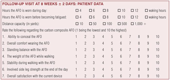 Figure 1. Satisfaction survey form.