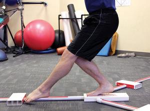 Figure 1. Y Balance Test, anterior reach