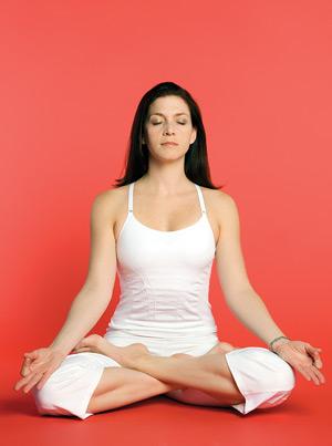 Figure 3. Lotus pose.