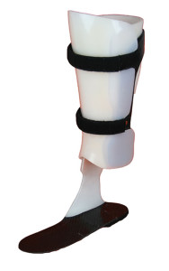 Custom ValgaNoodle AFO with Pre-Tibial Shell - Model: NPV