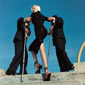 High & Mighty shoot, American Vogue, February 1995. © Estate of Helmut Newton / Maconochie Photography