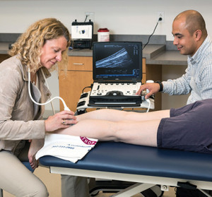 Click image to read the Shear-wave elastography could help optimize Achilles rehab article