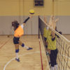 Most volleyball-related ankle injuries  occur during blocking