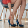 Incorrectly fitted footwear, foot pain and foot disorders