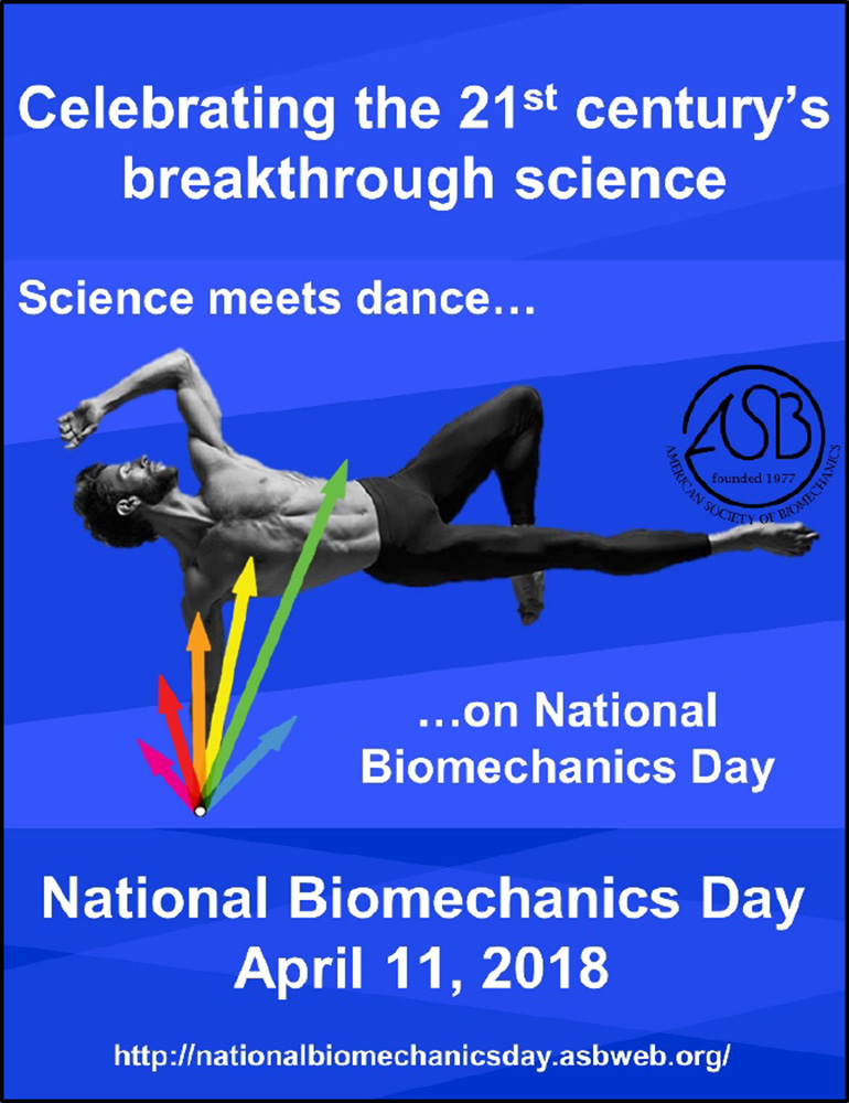 National Biomechanics Day 2018: Opening Young Minds to a