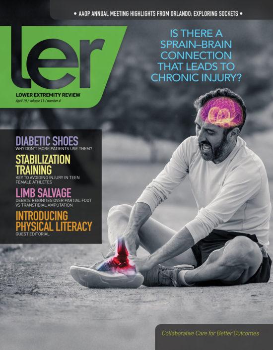 5f3e6746f7 Lower Extremity Review Magazine - biomechanics, foot orthotics, knee ...